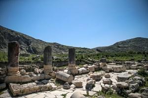 Anavarza Için Hedef Unesco Kalıcı Miras Listesi Fotoğraflar