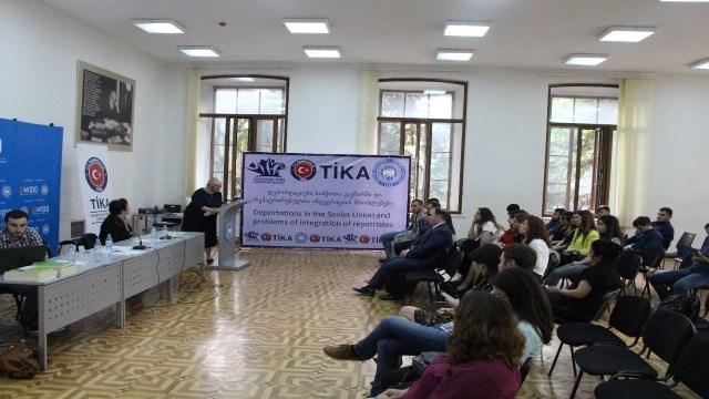 TİKA'dan Gürcistan'daki Ahıska Türkü gençlere eğitim desteği