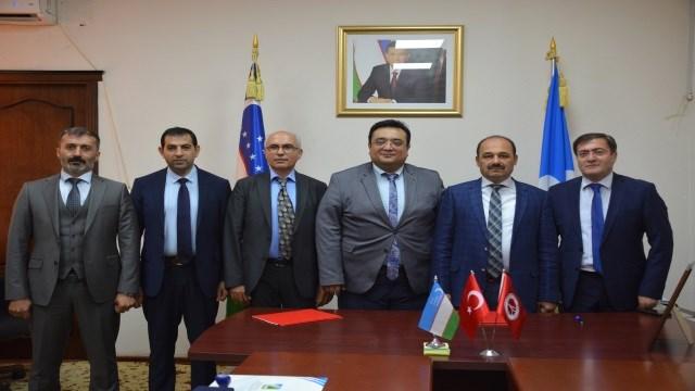 Türkiye ile Özbekistan eğitim kurumları arasında iş birliği